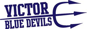 Victor Blue Devils logo